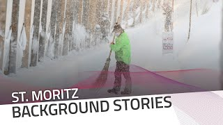 Snow fall in St. Moritz | IBSF Official