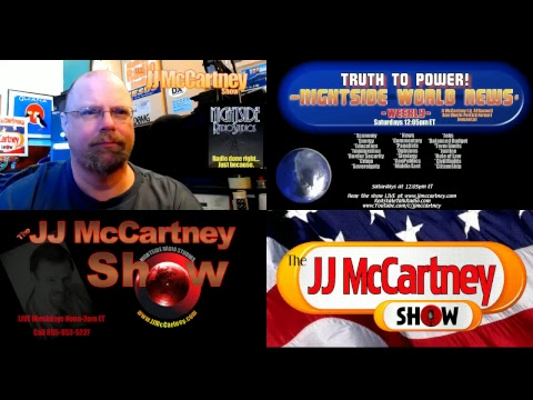 JJ McCartney Show Friday June 16th 2017 World News, + Colonel 855-853-5227
