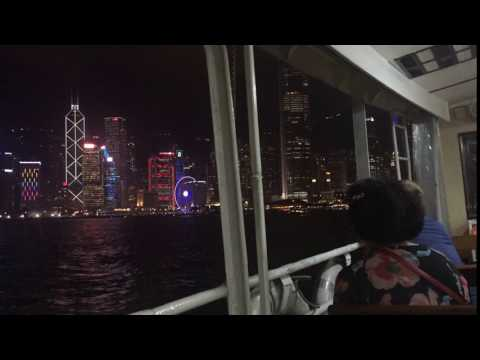 Timelapse crossing Victoria Harbor