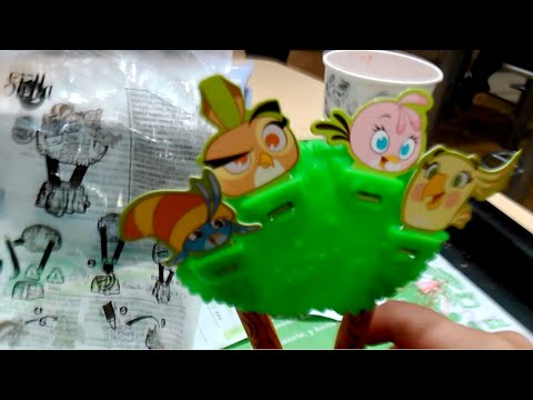 Kids Meal Burger King Angry Birds Go Angry Birds Stella Review