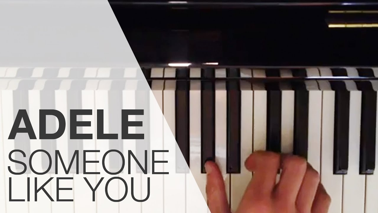 Famous Klavier Anleitung: Someone like you von Adele lernen/ Song auf dem  FF11