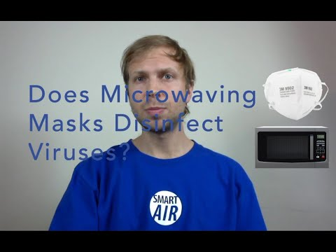 Can Microwaving Masks Disinfect Them From Viruses?