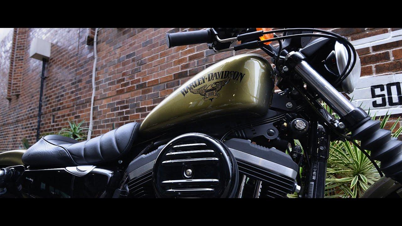 画像: 2016 HARLEY-DAVIDSON MOTORCYCLES XL883N インプレッションムービー youtu.be