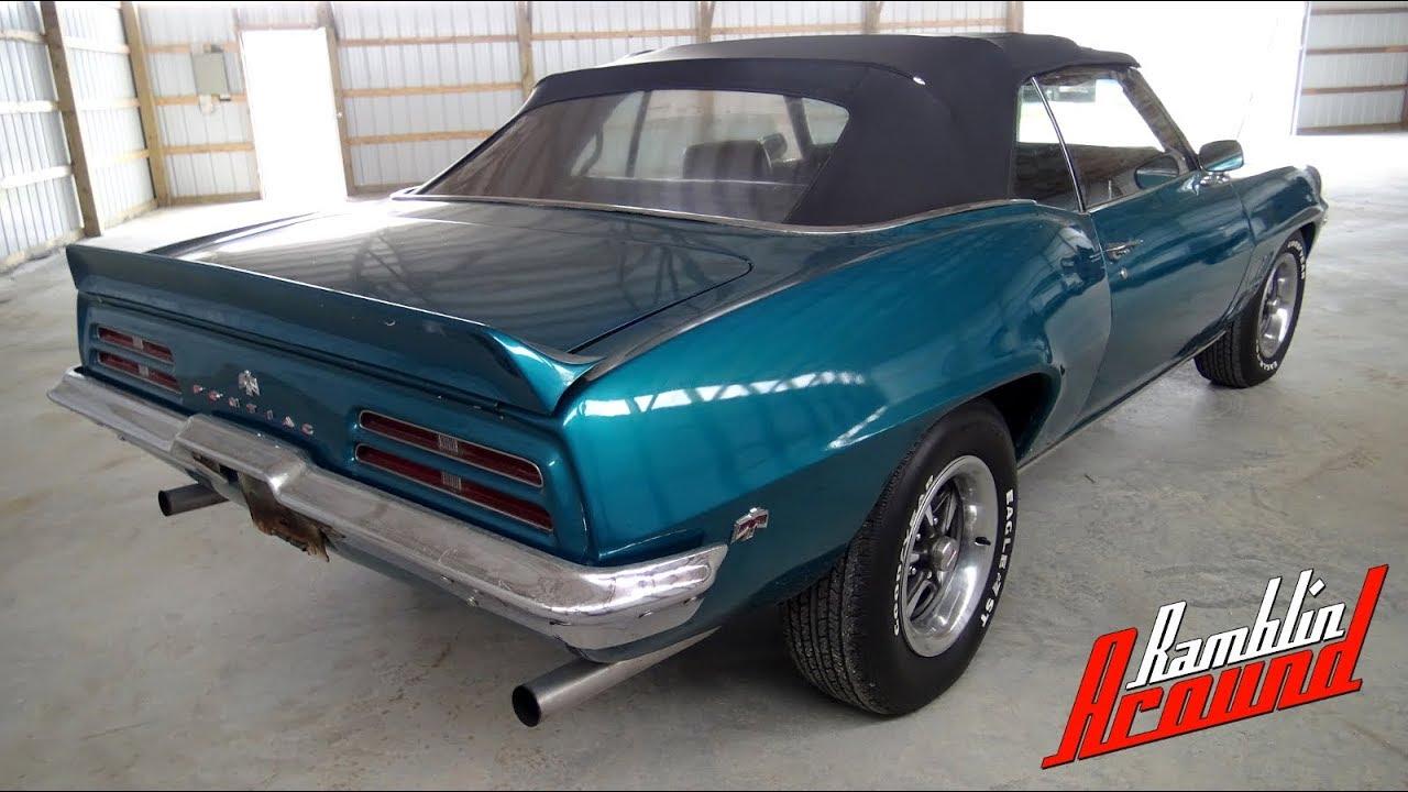 1969 Pontiac Firebird - Built 455 V8, Aluminum Heads, Four-speed
