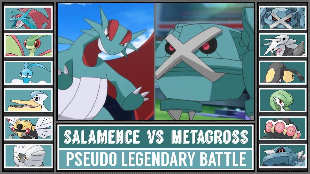 Pokémon Battle   TEAM SALAMENCE vs TEAM METAGROSS