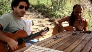 Baia e Gilberto Gil  - Música: Baia e a Doida - Araras 2007