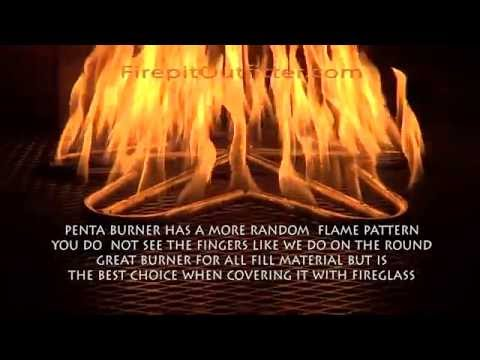 Gas Fire Pit Burner Review - Gas Fire Pit Burner Review - YouTube