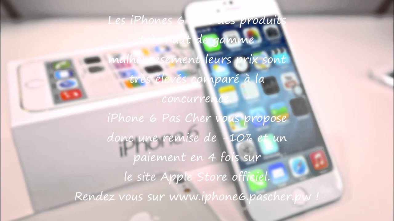 avoir un iphone 6 pas cher march 2015 hq youtube
