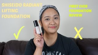 FIRST REVIEW FOUNDATION | SHISEIDO RADIANT LIFTING FOUNDATION