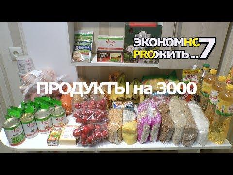 Как закупить продукты на месяц экономно