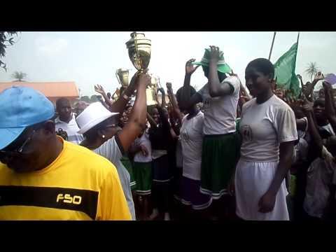 St. Maria goretti interhouse sport winners-pink ho