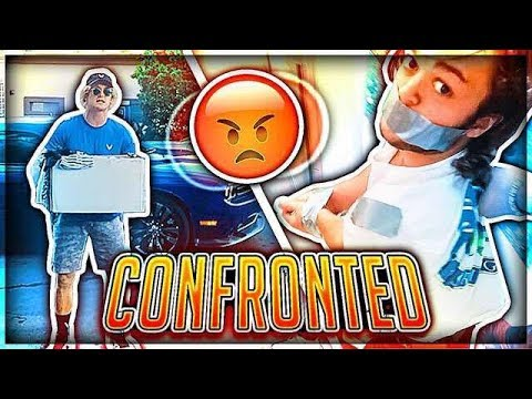 Face to Face Confronting LOGAN PAUL! (Kidnapped Roommate)