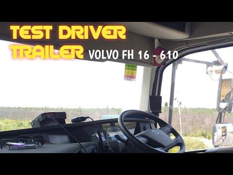 Test Driver Trailer PT.MHA Tabang Nov 2018