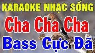 Karaoke Liên Khúc Cha Cha Cha Thôn Quê | Nhạc Sống Trữ Tình Hòa Tấu | Trọng Hiếu