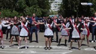 Оренбург. Выпускники отжигают