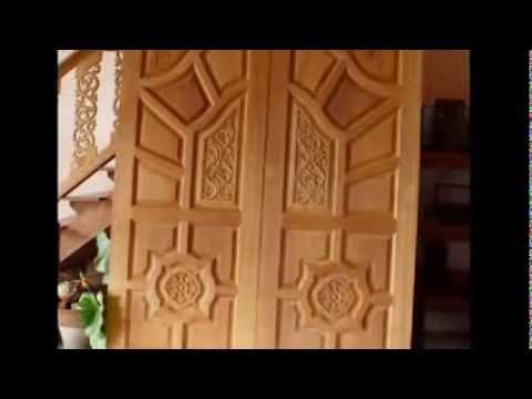 Kerala Style Main Double Door Youtube