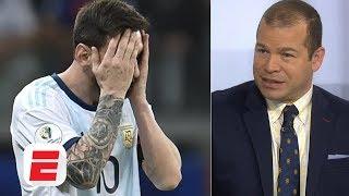 Lionel Messi and Argentina are just '11 guys running around' in Copa America - Ale Moreno | ESPN FC