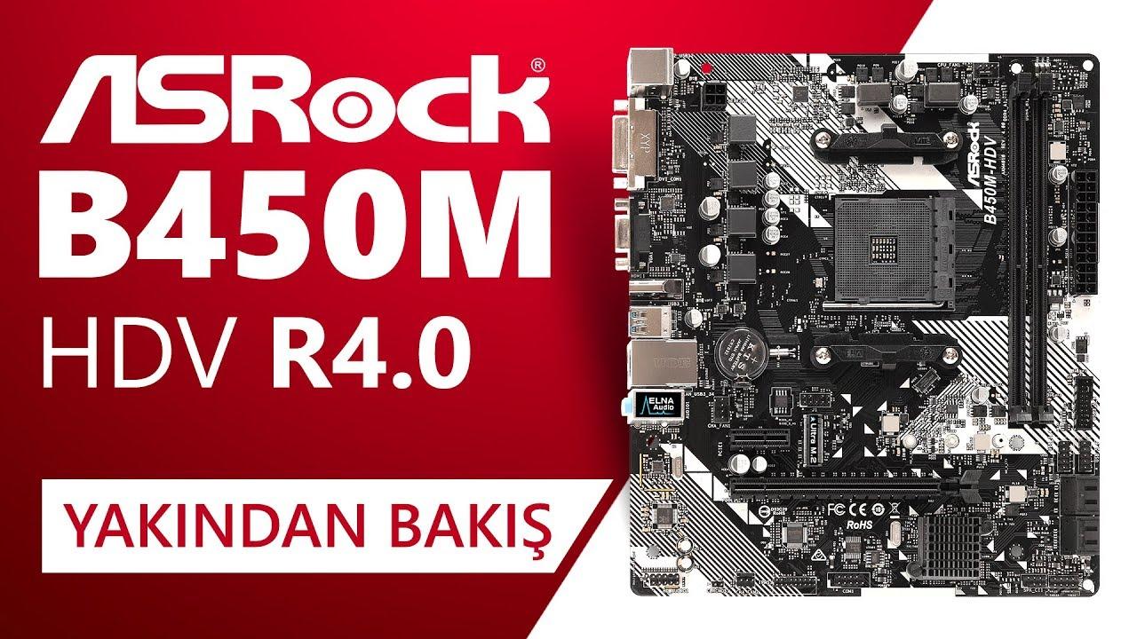 Asrock B450M-HDV R4 0