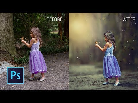 Photoshop cc Tutorial: HOW COULD I EDIT MY CHILD Photo with Photoshop |  change photo background