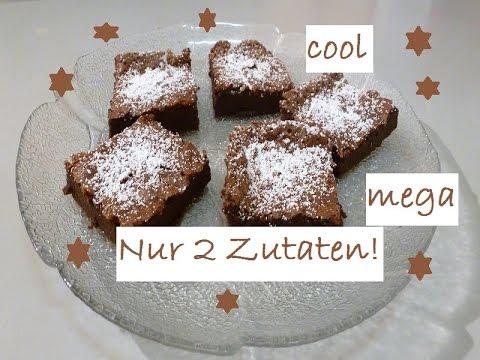 Kuchen Mit Nur 2 Zutaten Ahnelt Brownies Einfach Schnell Gemacht