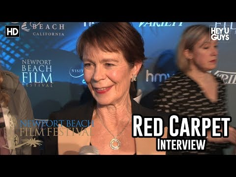 Celia Imrie Red Carpet Interview - Newport Beach Film Festival UK Honours