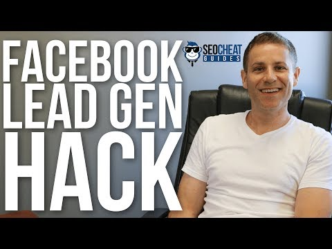 Free Facebook Hack for Lead Generation