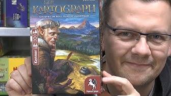 Der Kartograph (Pegasus Spiele) - ab 10 Jahre - für 1 bis 100 Spieler! Verrückt!