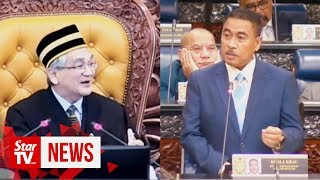 Speaker denies conflict of interest after it's revealed his son is aide to LGE