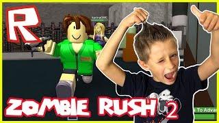 Zombie-Rush - ZOMBIES EVERYWHERE | Roblox