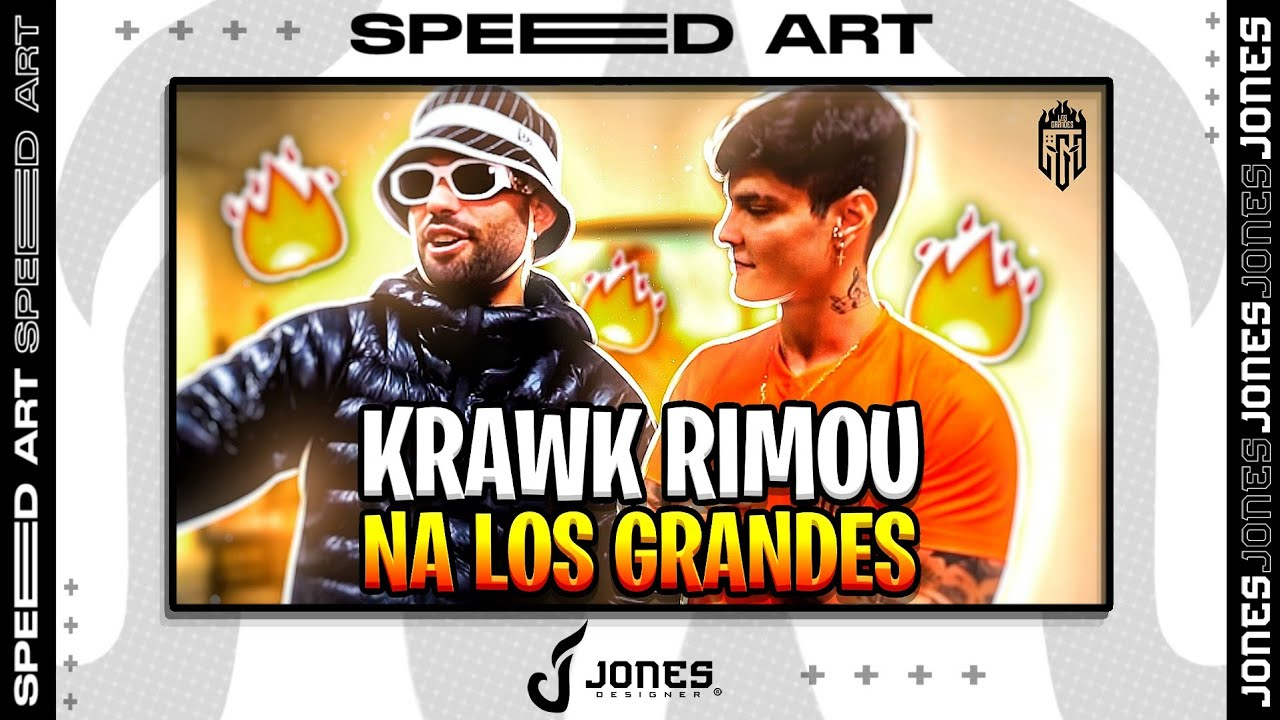 Speed Art Thumbnail || Para @LOS GRANDES ‹ JONES ›
