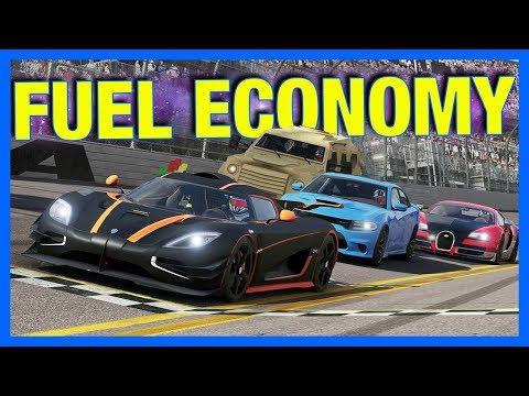 Forza 6 Online : WORLD'S WORST FUEL ECONOMY!!