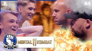 STEFAN & GIO vs JAYJAY & QUCEE | MORTAL KOMBAT 11 | FOR THE WIN: KNOCK OUT S1 | #4