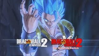 Dragon Ball Xenoverse 2 - Gogeta Blue Gameplay Teaser Commercial!