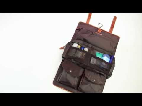 d2f387cabce Canyon Leather - Buffalo Mountain Travel Kit - YouTube