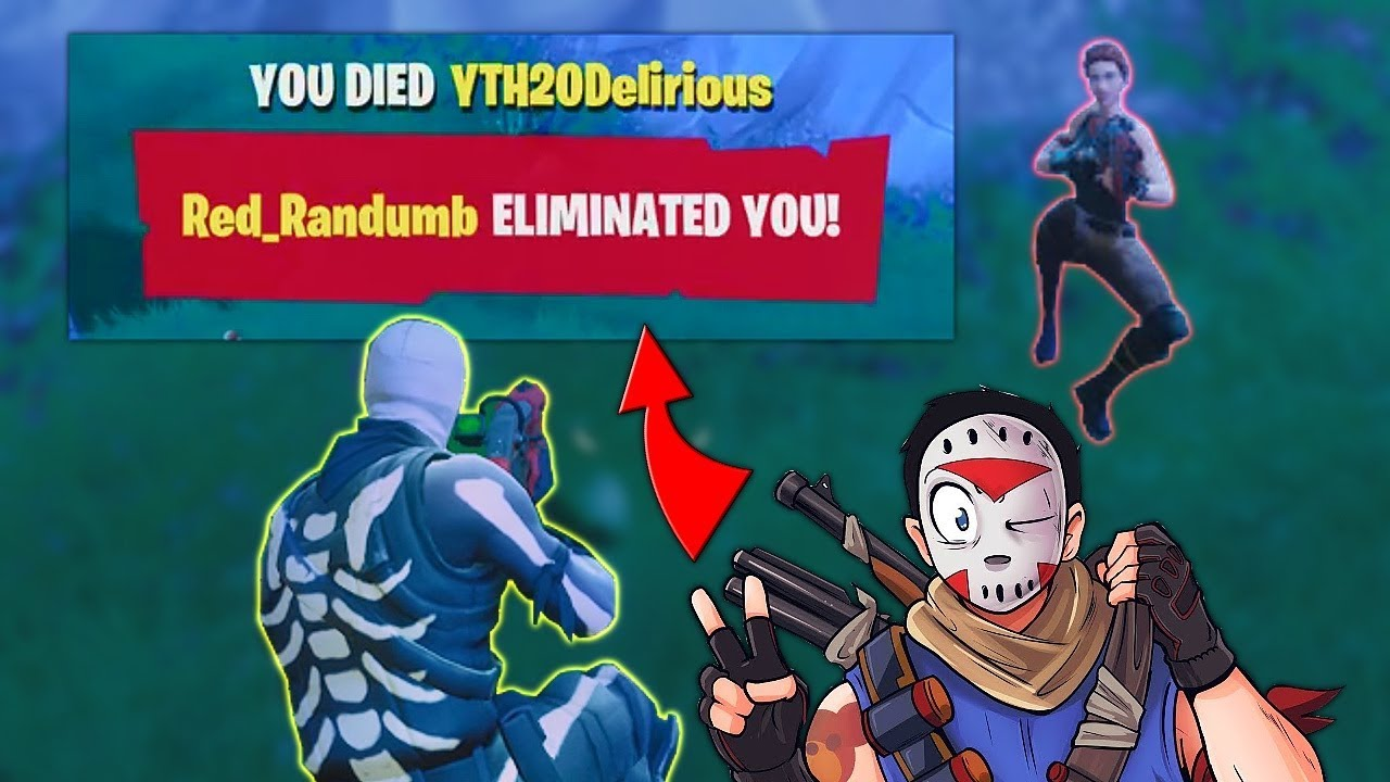 I KILLED H20 DELIRIOUS FORTNITE BATTLE ROYALE YouTube