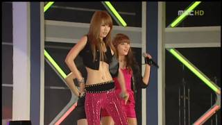 [Full HD] 4Minute 100327 - Hot Issue @ MBC Giants Concert