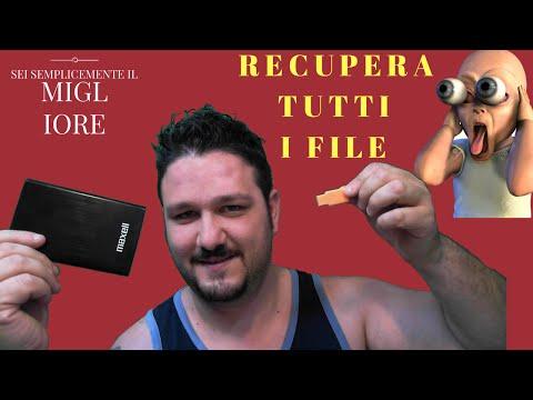 COME RECUPERARE FOTO VIDEO E FILE CANCELLATI !!!