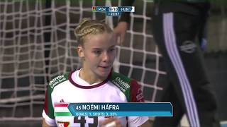 Noemi Hafra (HUN) - All-star left back | IHFtv - Hungary 2018