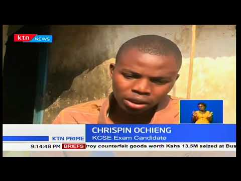 19 year-old form four student in Kisumu risks paralysis due to a police bullet stuck in his thigh