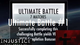 Injustice Gods Among Us iOS Ultimate Multiplayer Battle #1 new to Patch 2.2