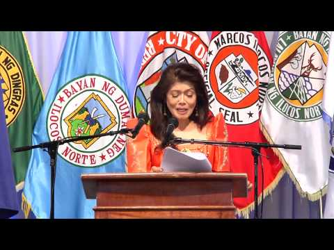 Governor Imee R  Marcos' State of the Province Address 2015