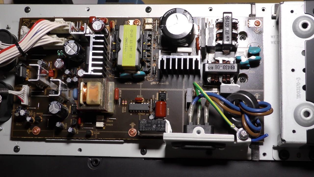 Bose Service Schematics Yamaha Soundbar Repair Ysp 1100 Youtube