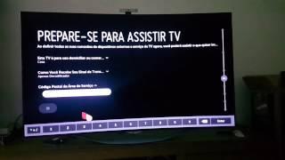 TV LG 55EC9300 OLED UNBOXING PORTUGUÊS BRASIL