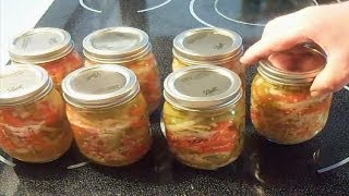 Pickled Garlic Peppers And Onions - E115