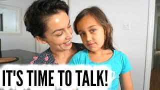 HOW TO TALK TO KIDS ABOUT THEIR BODIES: Menstruation, Birth etc. | AmandaMuse