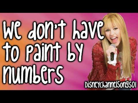 Hannah Montana Pumin' up the party With Lyrics