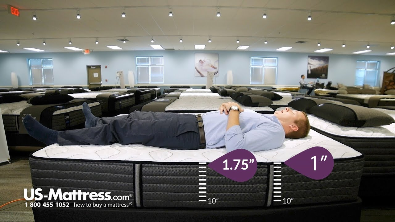 Sealy Posturepedic Response Premium Barrett Court Iv Ultra Firm