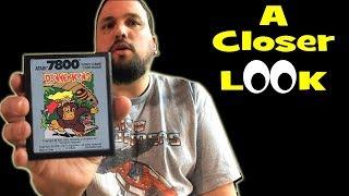 Donkey Kong on Atari 7800 | A Closer Look