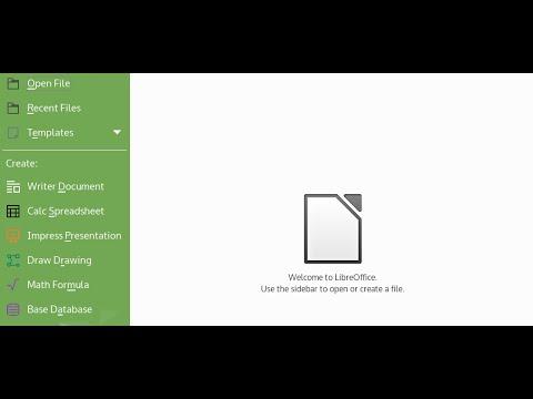 Installing LibreOffice on Kubuntu Desktop