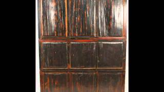 Antique Chinese Chinoiserie-style China Cabinet _bk0023y.wmv